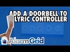 2GIG DBELL1: Program to Lyric Controller